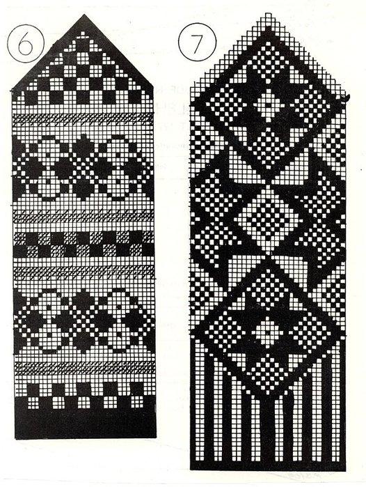Варежки схемы 11 (526x700,