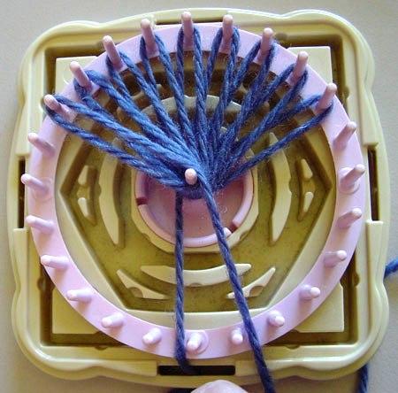 钩针:编花器教程(一) - maomao - 我随心动