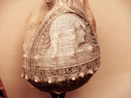Резные камейные раковины с 16 по 20 век
