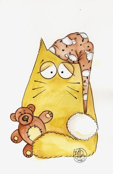 Мультяшные коты