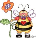 Превью Bees (483x512, 51Kb)