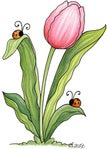 Превью Birds%2520of%2520a%2520Feather%2520-%2520Painted%2520-%2520Tulip%2520and%2520Ladybugs (344x480, 35Kb)