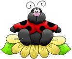 Превью Bug%252520on%252520Flower (512x422, 31Kb)