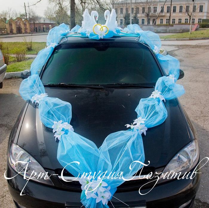 Первая как украсить свадебные машины