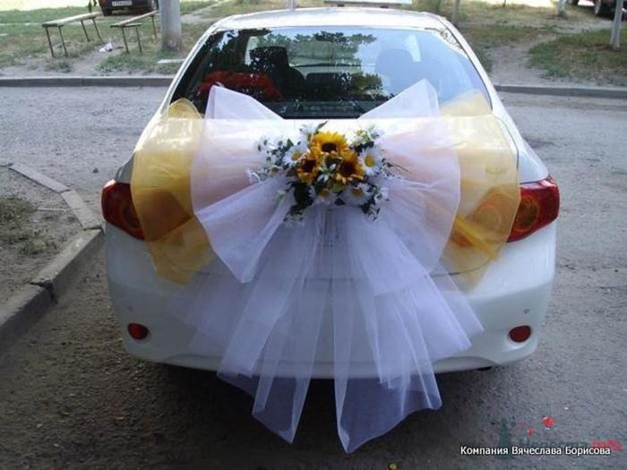 Вторая как украсить свадебные машины