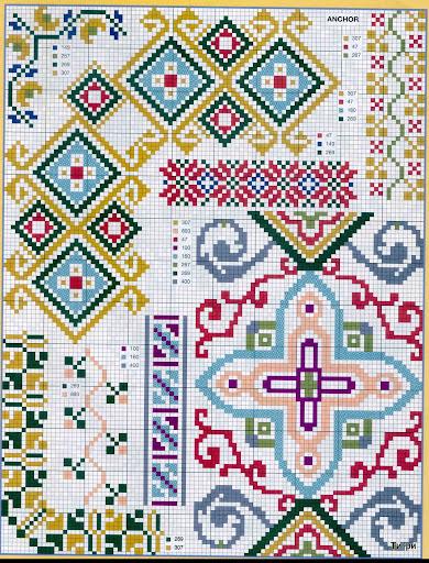 punto croce 375 motifs (12) (390x512, 152Kb)