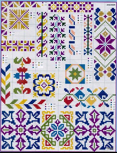 punto croce 375 motifs (13) (391x512, 158Kb)