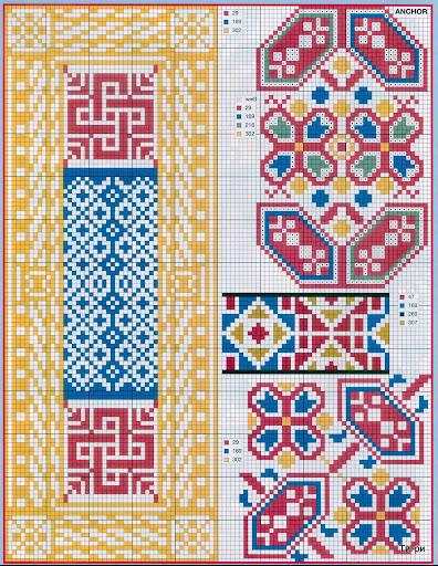 punto croce 375 motifs (16) (396x512, 156Kb)