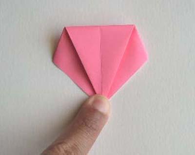 81 Цветы из бумаги, лилия оригами, лучшая подробная схема.