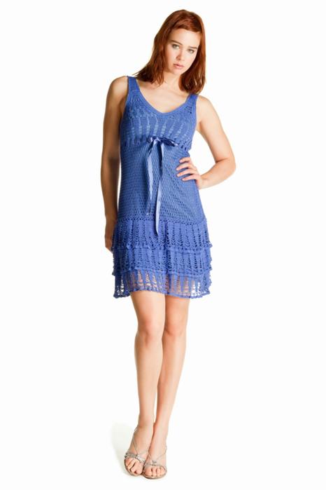 Вяжем крючком Девочки, помогите найти схему платья мастер класс.