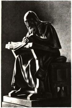 Нестор-летописец. Скульптура М. М. Антокольского. (234x350, 24Kb)