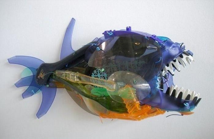Игрушки из мусора