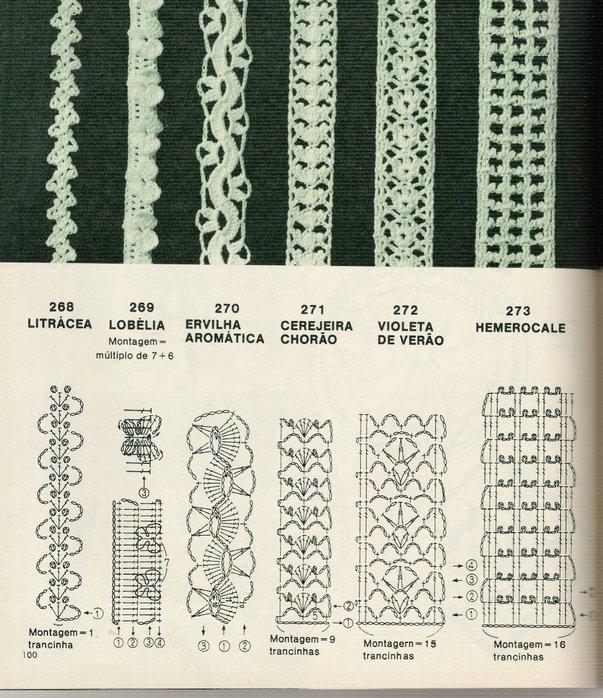 ТЕСЬМА - KRESTIK: вязание, вышивка. b Схемы /b и.