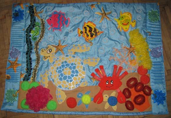 Массажный коврик для детей от