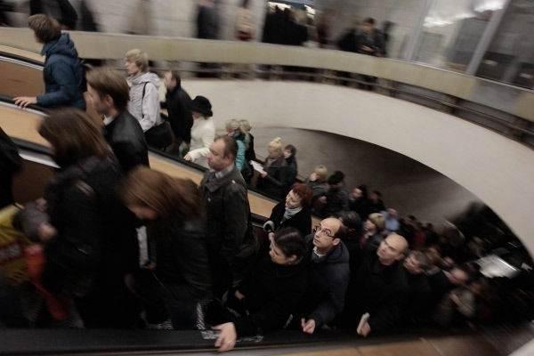 Авария в московском метро. Фотографии