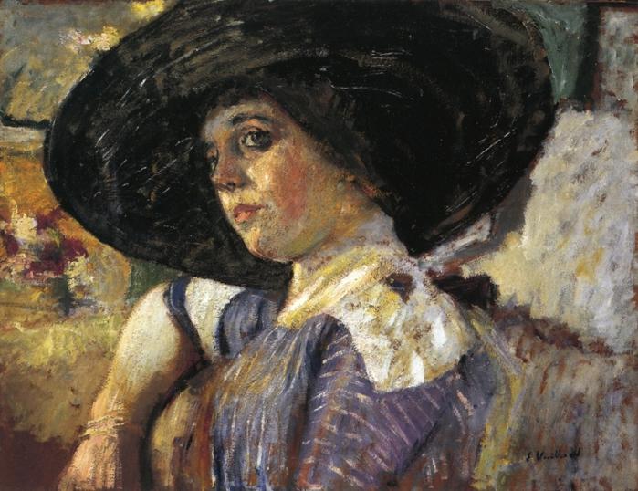 Женщина в шляпе. 1912 (700x538, 318Kb)