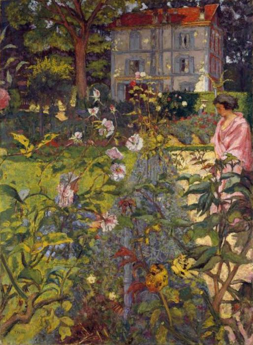 Утро в саду на Vaucresson - 1923-1937 (514x700, 76Kb)