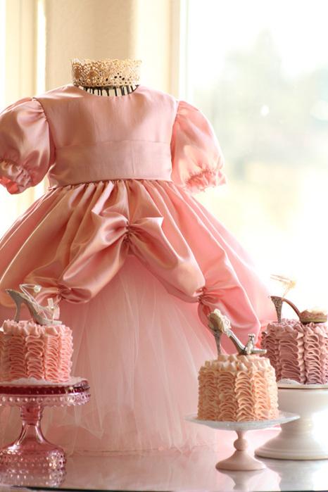 Платья для принцессы быстро