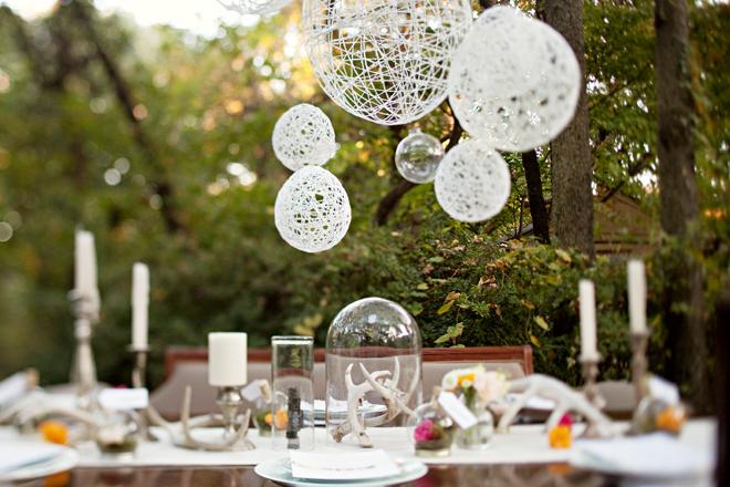 White table decoration ideas