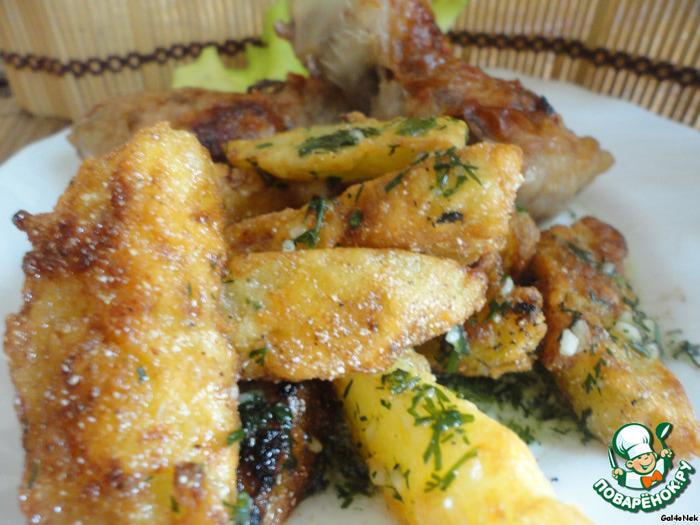 картофель селянски рецепт фото