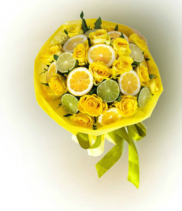 Букет из фруктов и цветов своими руками пошаговое фото для начинающих