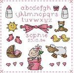 Превью ABC Birth Sampler Girl (330x326, 31Kb)