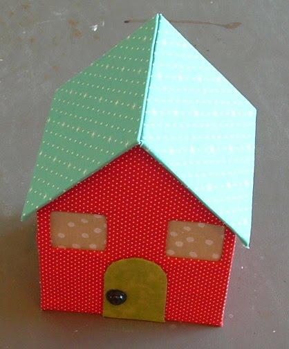 Как сделать домик из коробки своими руками фото