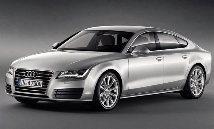 Самые красивые машины 2011 года по версии журнала Forbes Audi A7 2 (700x423, 55Kb)