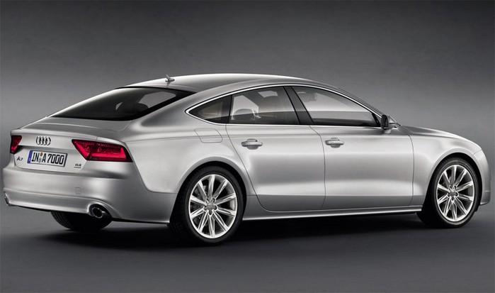 Самые красивые машины 2011 года по версии журнала Forbes Audi A7 3 (700x413, 48Kb)