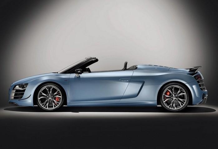 Самые красивые машины 2011 года по версии журнала Forbes Audi R8 GT Spyder 2 (700x478, 45Kb)