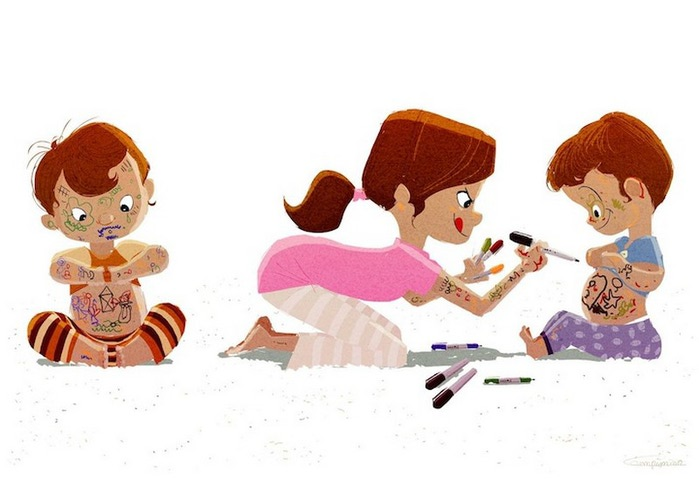 счастливое детство картинки 5 (700x479, 62Kb)