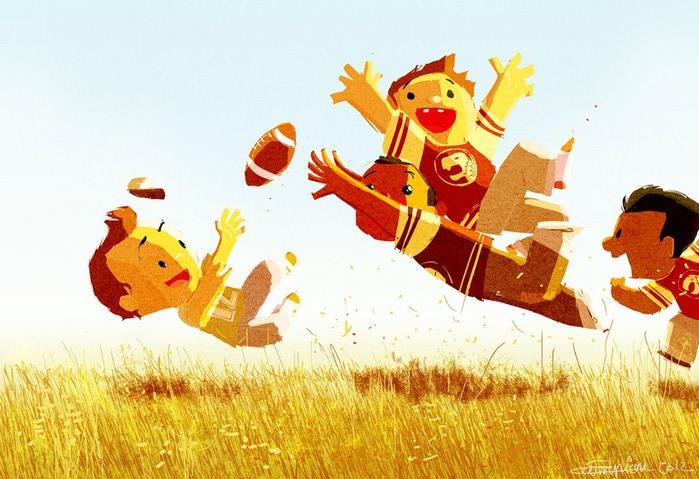 счастливое детство картинки 16 (700x479, 102Kb)