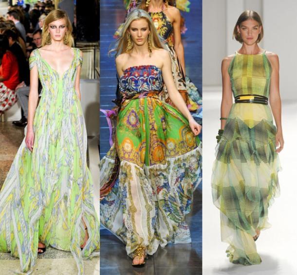 Платья в пол сшить модные