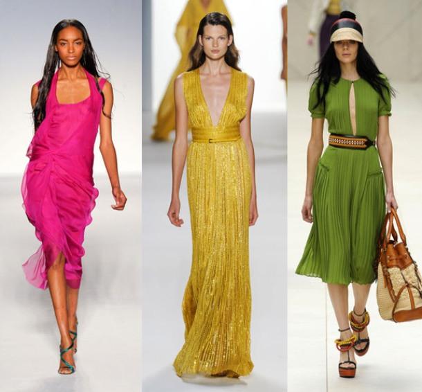 Шифоновые платья с рукавами будут пользоваться особой популярностью в...