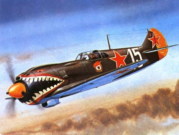 02 Ла-5 Костылева в атаке (700x528, 103Kb)