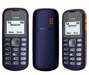 Nokia выпустила самый дешевый мобильник.