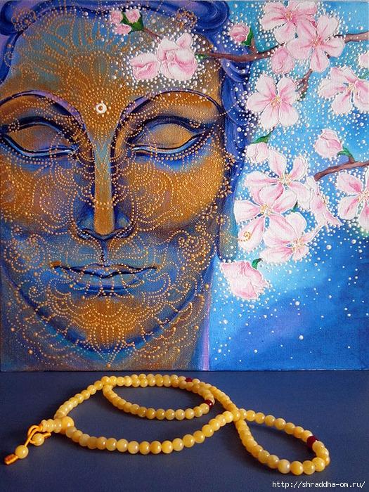 Сон разума, акрил, холст, автор Shraddha, 2 (525x700, 433Kb)