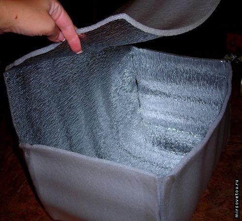 Как сделать сумку-холодильник своими руками.