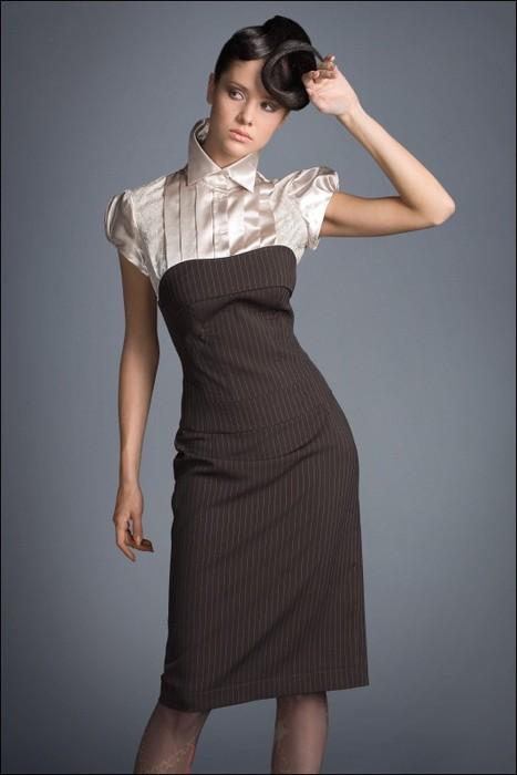 Офисная одежда для девушек 2014 9