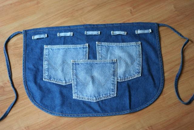 Поделки из старых джинсов своими руками фото