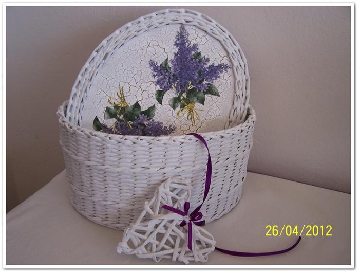 Плетение из газет мк и идеи - olga_tarasik