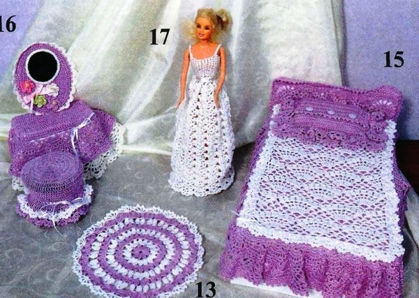 Одежда для куклы Барби Вязание