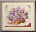 Превью ASN3680 Country Bouquets   Lilac Basket (406x356, 26Kb)