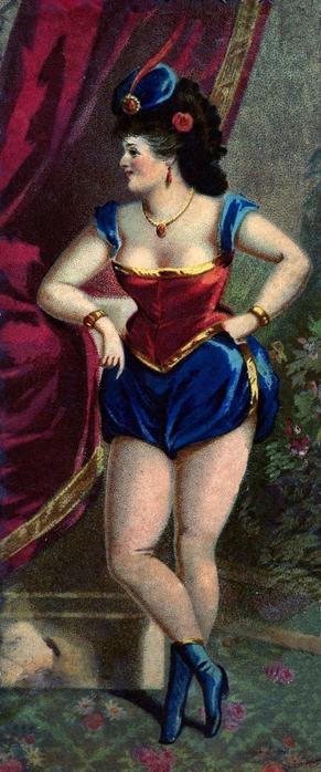 showgirl vintage graphicsfairy006b (291x700, 193Kb)