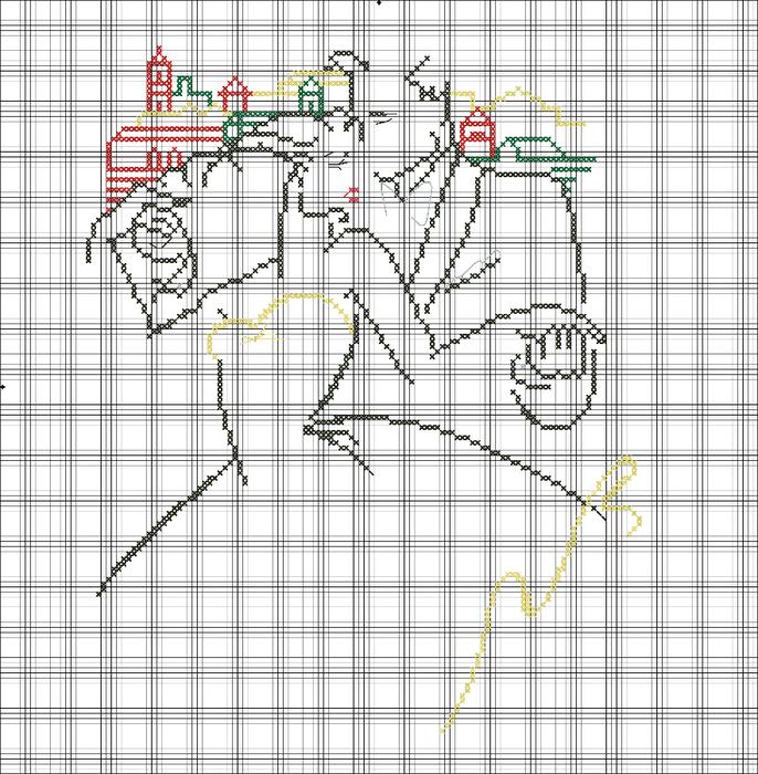 Схема вышивка вилсон