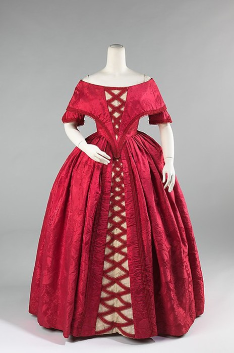 17-18 век платья: