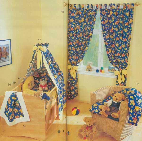 Шьём детские шторы