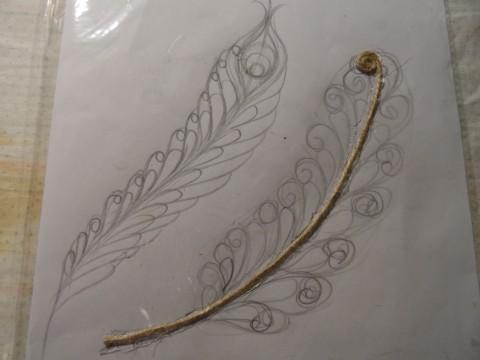 欣赏另一种编织黄麻花丝 - maomao - 我随心动