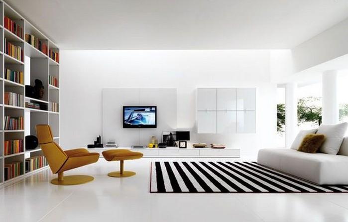 Современный дизайн стен гостиной 7 (700x446, 56Kb)