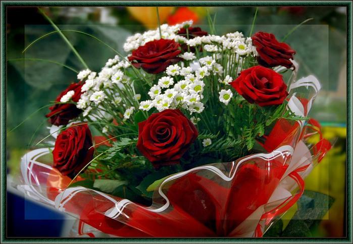 Открытки для цветов и букетов 496